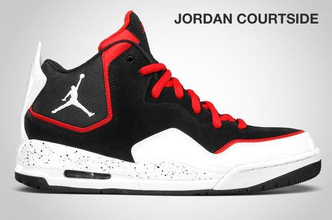 Jordan Courtside Black White 1