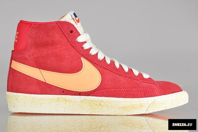 Nike Blazer High Suede Womens 10 1