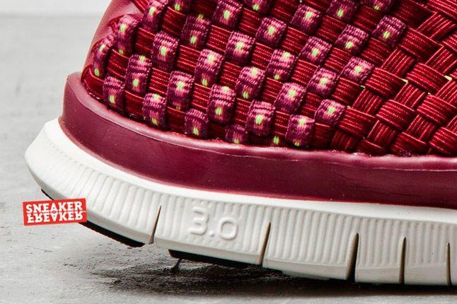 Nike Free Woven Cherry 2