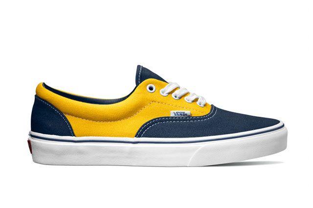 Vans Classics Era Golden Coast Dress Blues Spectra Yellow 2014