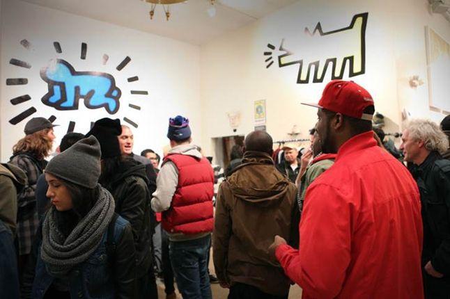 Reebok Keith Haring Bodega Launch Room Shot 1