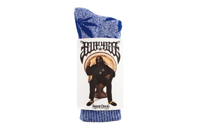 Huf Snoop Socks Plantlife Snoop Blue Packaging 1