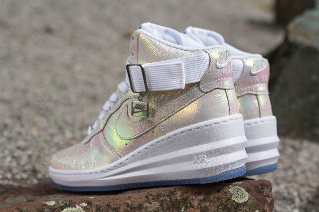 Nike Wmsn Lunar Force 1 Sky Hi Qs Mother Of Pearl 4