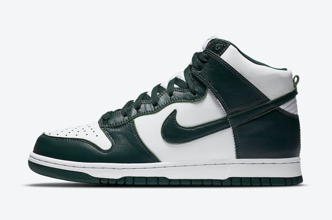 Nike Dunk High Pro Green Left