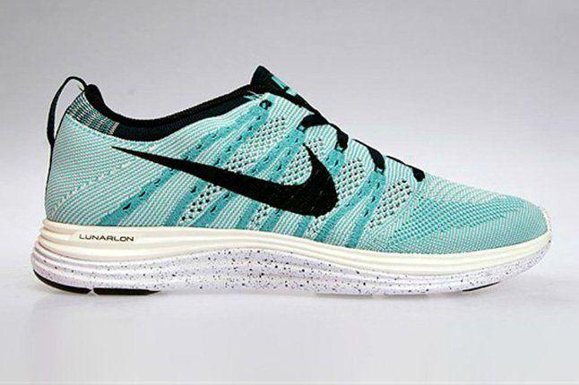 Nike Flyknit Lunar 1 Sport Turquoise Side 1