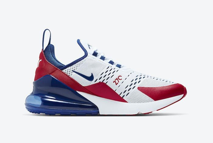 Nike Air Max 270 Red White Blue Medial