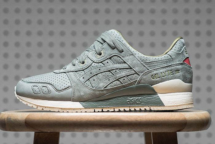 Asics Gel Lyte Iii Perforated Pack Agave Green 1