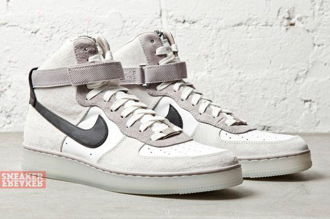Nike Af1 Downtown Hi White 2