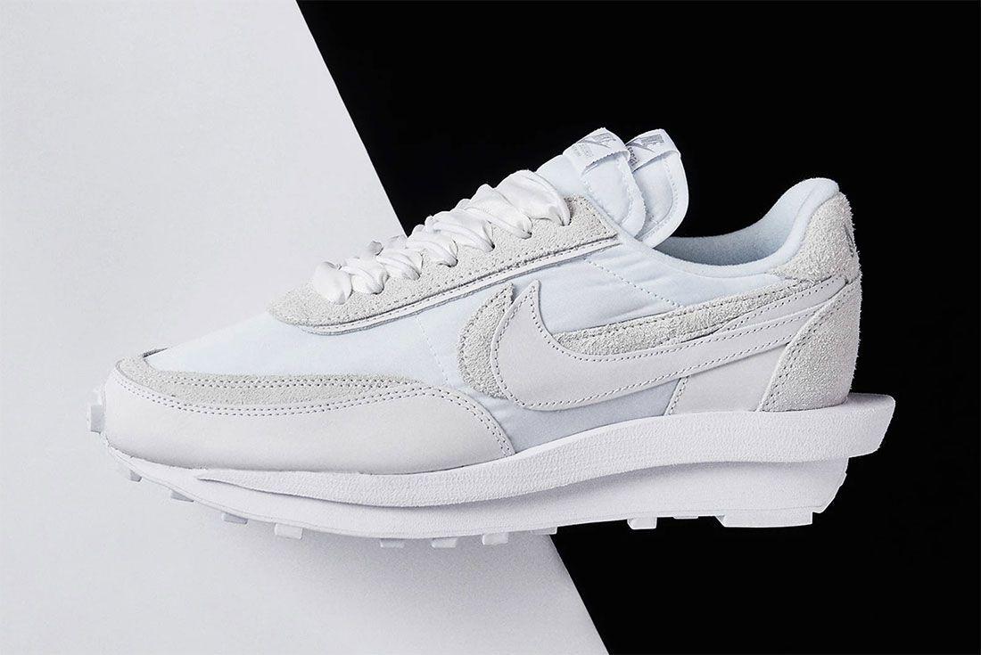Sacai Nike Ldvwaffle White