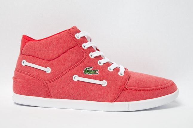 Lacoste Crosier Sail Mid Ml Red 1