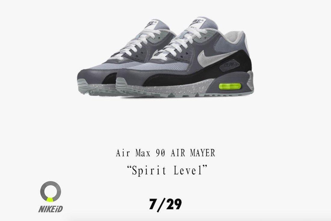 John Mayer Nike Air Max 90 Spirit Level 2