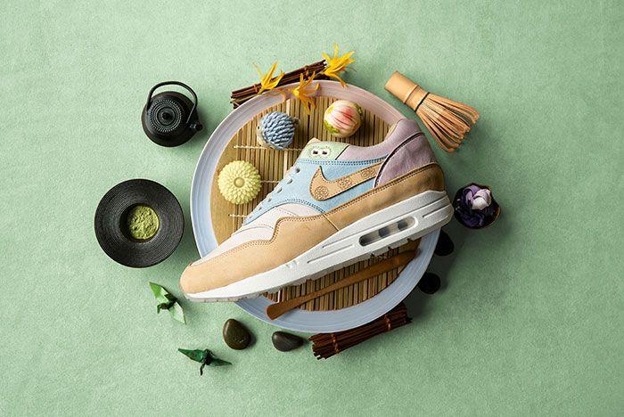 Chase Shiel Ryustyler Nike Air Max 1 Custom Wagashi Food Shot5