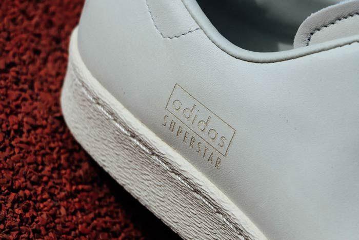 Adidas Superstar 80 S Clean White 3