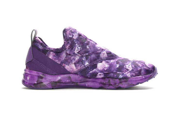 Reebok Furylite Slip On Purple Rose Womens 8