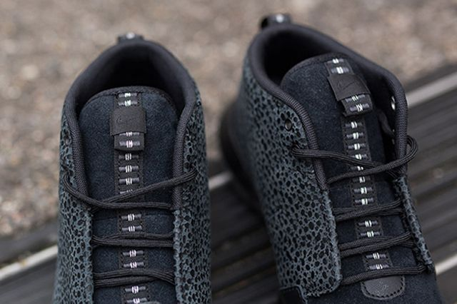 Roshe Run Sneaker Black Safari 1