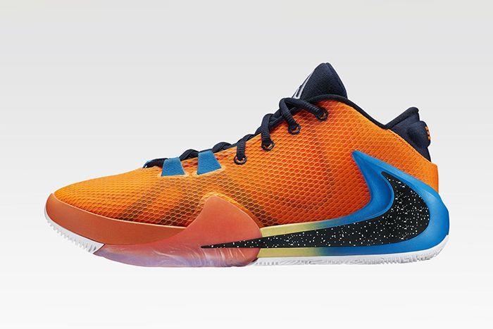 Nike Zoom Freak 1 Giannis Antetokounmpo Bros Night Release Date Lateral