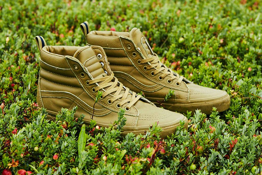 Dqm X Vans Quilted Sk8 Hi Mte Dx A