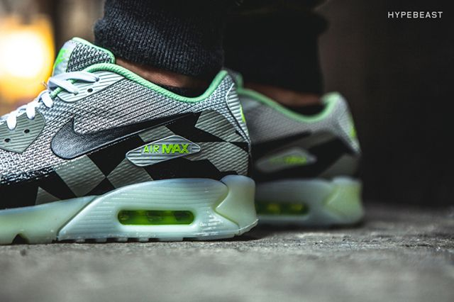 Nike Air Max 90 Knit Jacquard Ice Qs Grey Mist 5