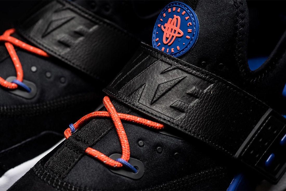 Nike Air Huarache Drift Premium Black Rush Violet Rush Orange Ah7335 002 Sneaker Freaker 5