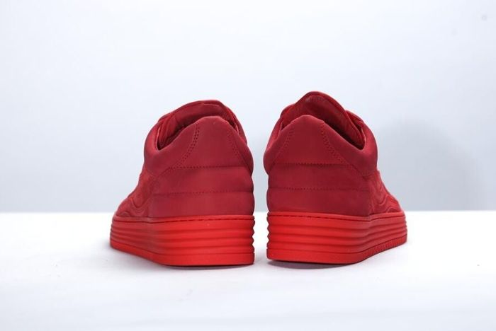 Filling Pieces Low Top All Red 6