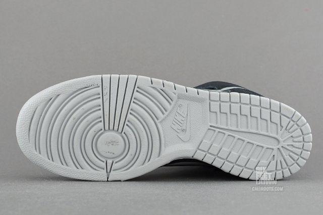 Nike Dunk High Black Reflective Silver Outsole
