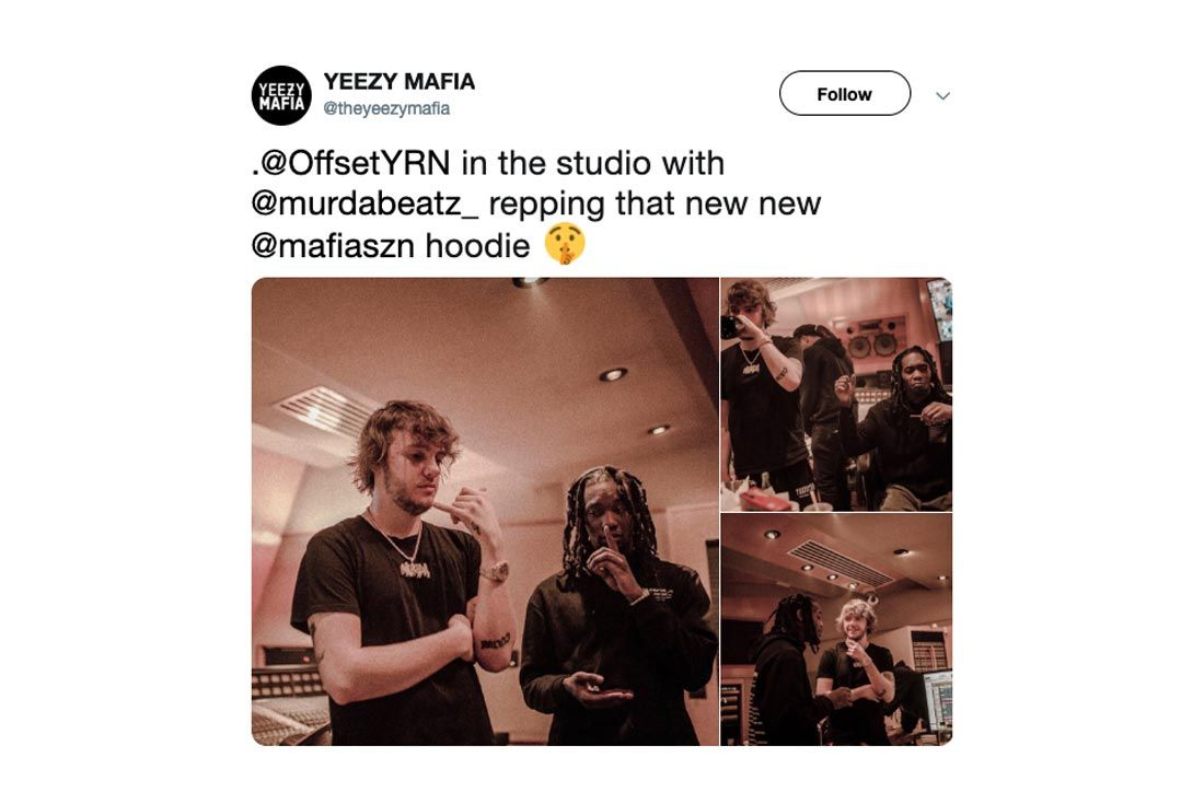 Yeezy Mafia Interview Offset
