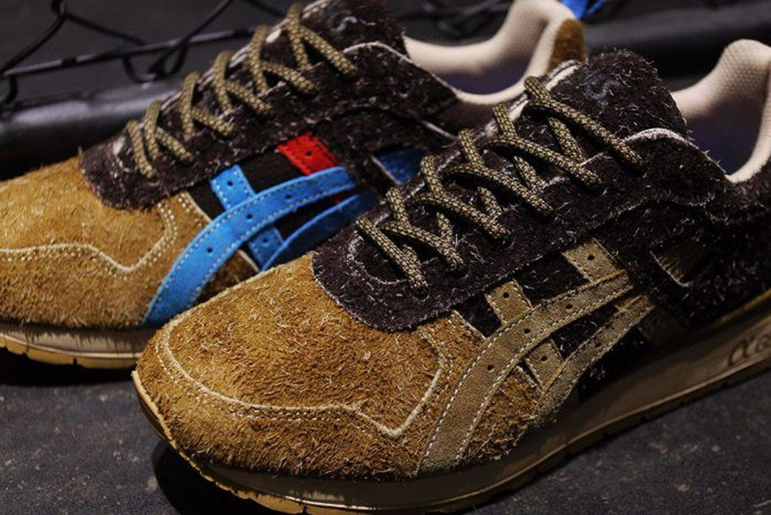 Material Matters Leather Suede Asics