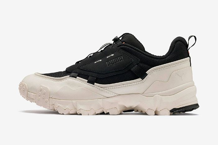 Puma Trailfox Black Off White Left