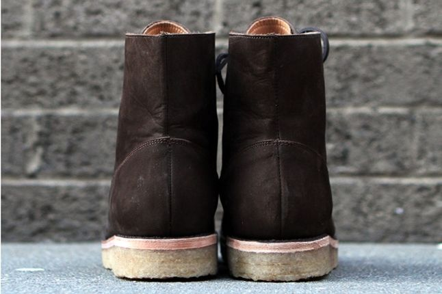 Fieg Caminando Office Boots Brown Heel 1