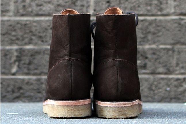 Fieg Caminando Office Boots Brown Heel 1