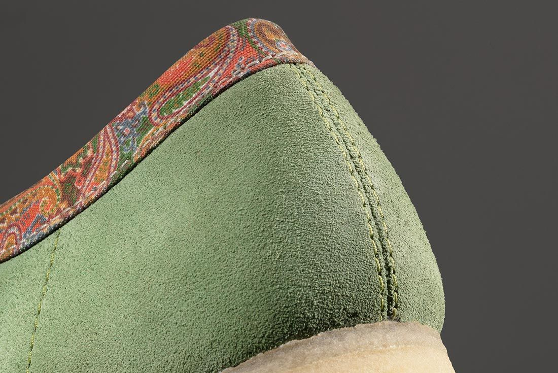Stussy Clarks Wallabees Heel Detail