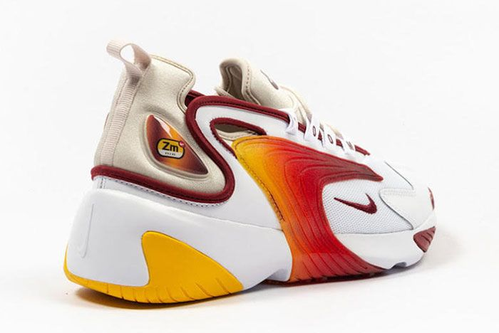 Nike Zoom 2K Team Red Ao0269 103 Three Quarter Lateral Side Shot