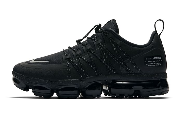 Nike Air Vapormax Run Utility Triple Black 2