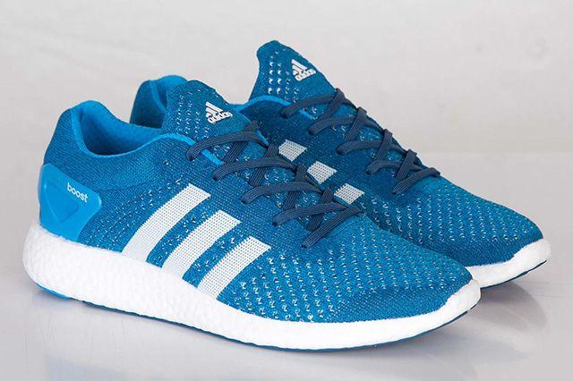 Adidas Primeknit Pureboost Solar Blue 2