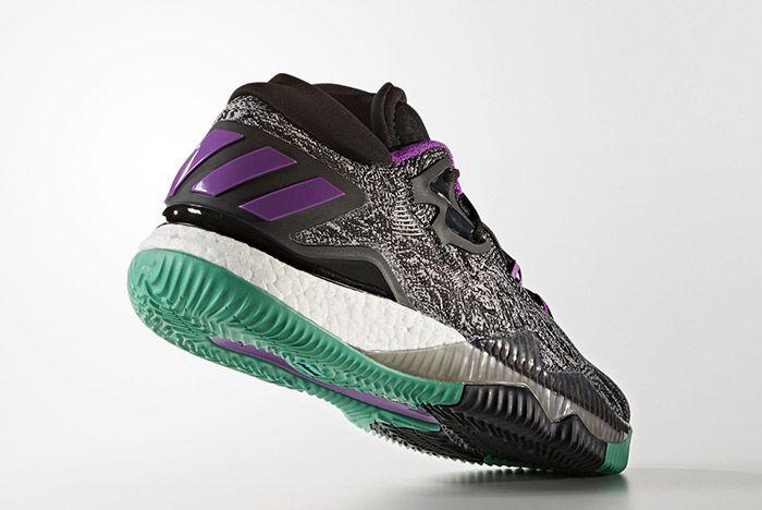 Adidas Crazylight Boost Black Shock Purple 3