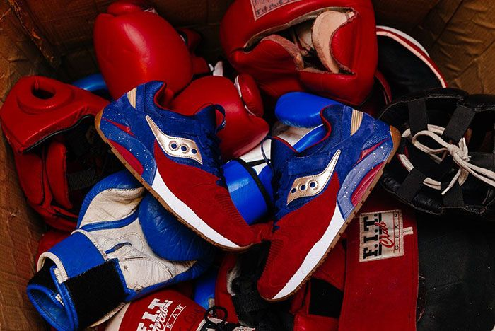 Saucony Grid 9000 Sparring 3