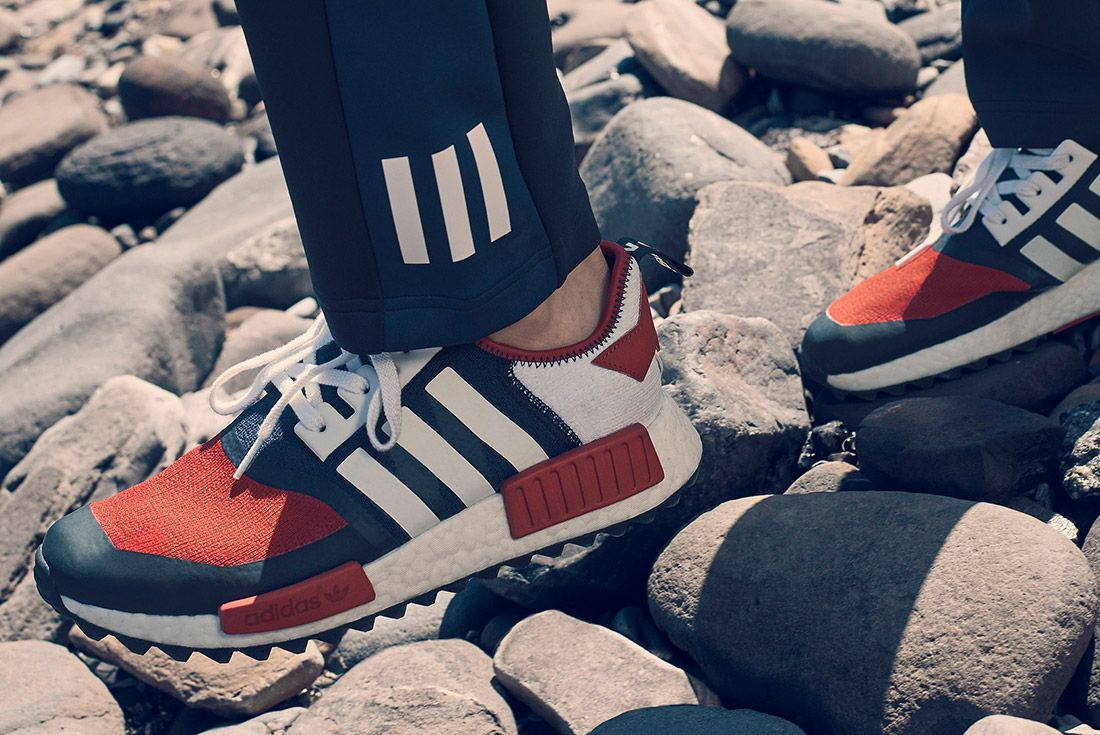 White Mountaineering Adidas On Foot 3