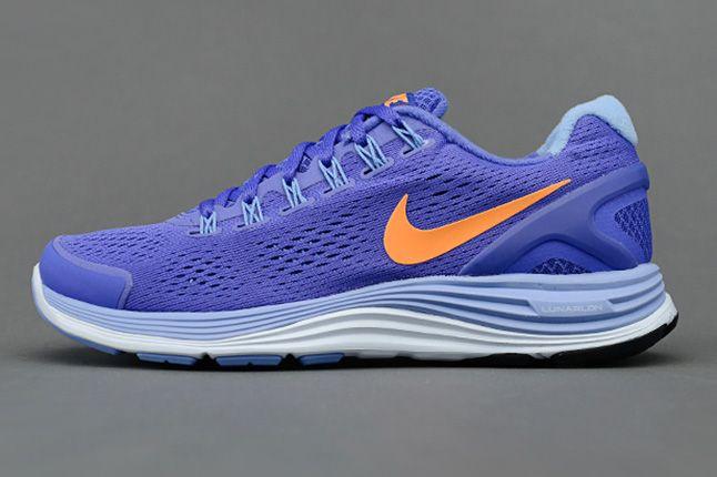 Nike Lunarglide 4 Violet Force Bright Citrus Side 1