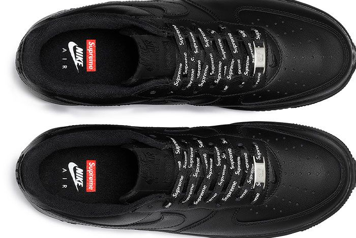 Supreme Nike Air Force 1 Low Black 2020 Release Date 2