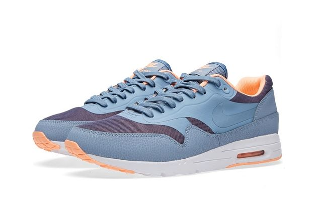 Nike Air Max 1 Ultra Moire Coll Blue Sunset Glow 4