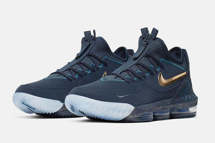 Titan Nike Le Bron 16 Low Agimat Cj9919 400 Release Date 1 Pair