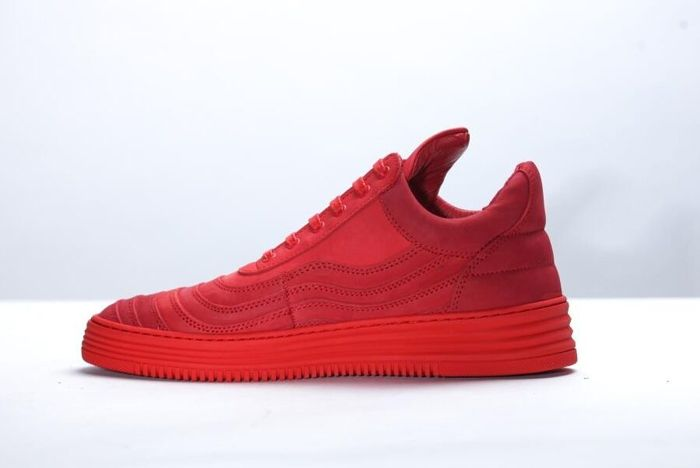 Filling Pieces Low Top All Red 7