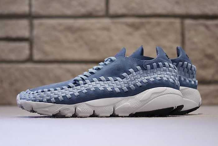 Nike Air Footscape Woven Smoky Blue 1