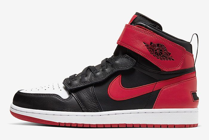 Air Jordan 1 Flyease Gym Red Left