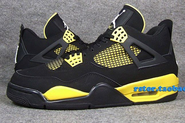Thunder Jordan Sneaker 1