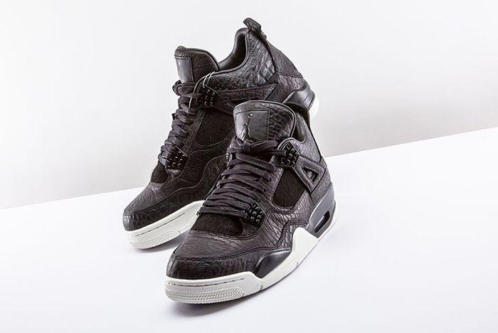 Air Jordan 4 Pinnacle Black 4