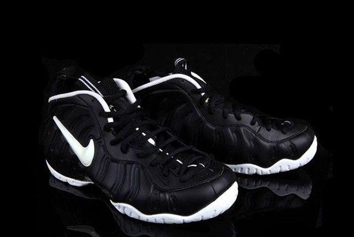 Nike Air Foamposite Pro Dr Doom Black White 2
