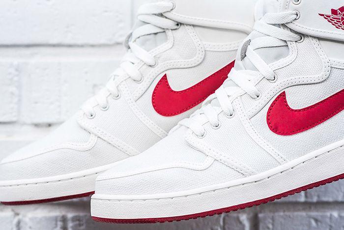Air Jordan 1 Ko High White Red Sail Og 3