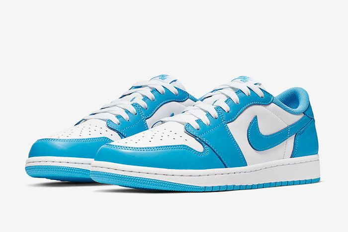 Nike Sb Air Jordan 1 Low Unc Cj7891 401 Front Angle