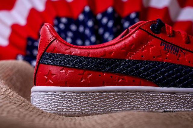 Puma Basket Independence Day Pack Red 3